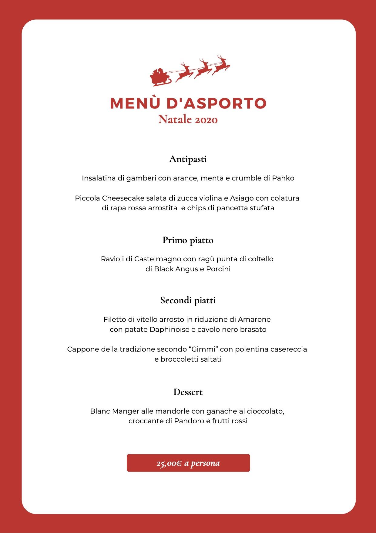 Menu Di Natale Tradizionale Veneto.Eventi News Gimmi Ristorante Pizzeria Events Catering